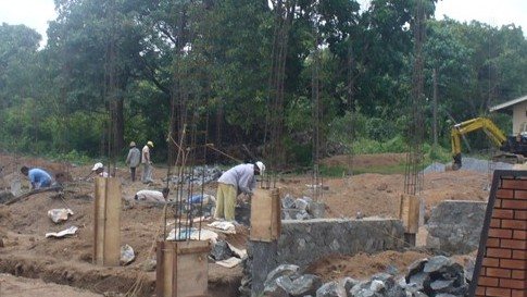 New Constructions of Technical College at Kuliyapitiya