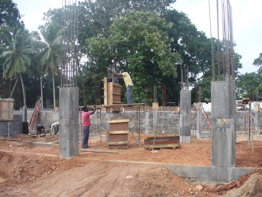 Contruction of Kuliyapitiya Technical College